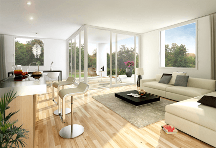 Den SONNENAUFGANG genießen ~ PENTHOUSE mit hellen Räumen + EXKLUSIVER AUSSTATTUNG + Süd-Ost-Terrasse
