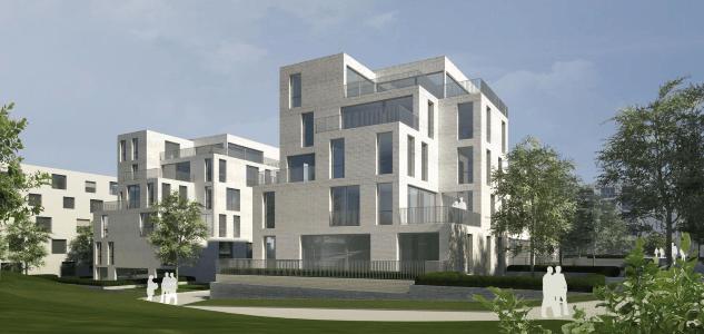GROßE FAMILIENWOHNUNG mit ca. 45 m² großem Wohnbereich + 2 MASTERBÄDER + SONNIGER TERRASSE