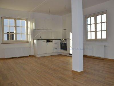 Nähe Flughafen - Das Glück hat ein Zuhause - wunderschöne Mietwohnung, ca.47 m², Erstbezug - Küche