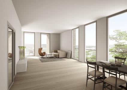 STYLISCHE STADTWOHNUNG mit ca. 54 m² Wohn-/Essbereich + LUXUSMASTERBAD + ca. 11 m² GROßER LOGGIA