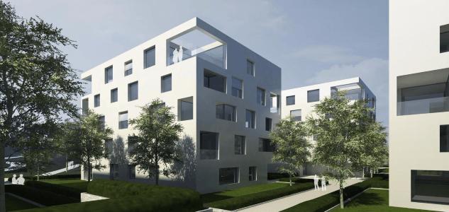 Wohnerlebnis mit PARKBLICK ***EXKLUSIVE Stadtwohnung mit ca. 47 m² Wohn-/Essbereich + 2 LOGGIEN***