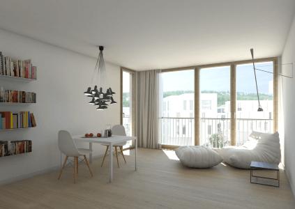 WOHNGLÜCK mit ca. 29 m² Wohnzone, komfortabler Ausstattung + West-Loggia AM HÖHENPARK KILLESBERG